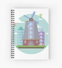 City Symbol: Amsterdam Spiral Notebook
