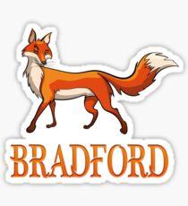 Bradford Fox Sticker