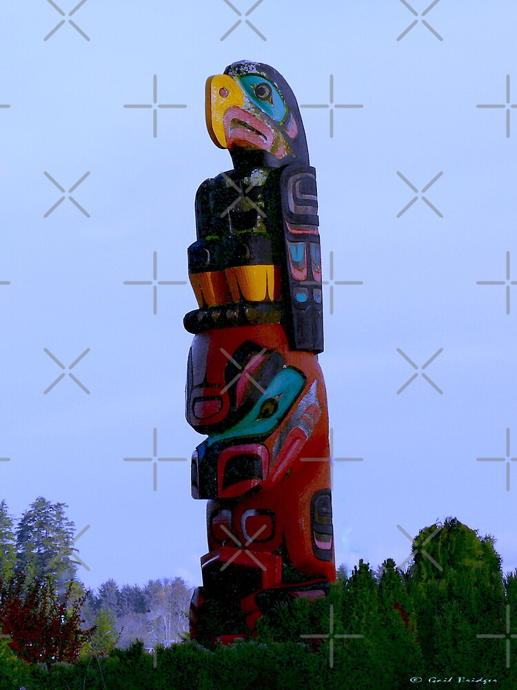 Thunderbird Totem by Gail Bridger