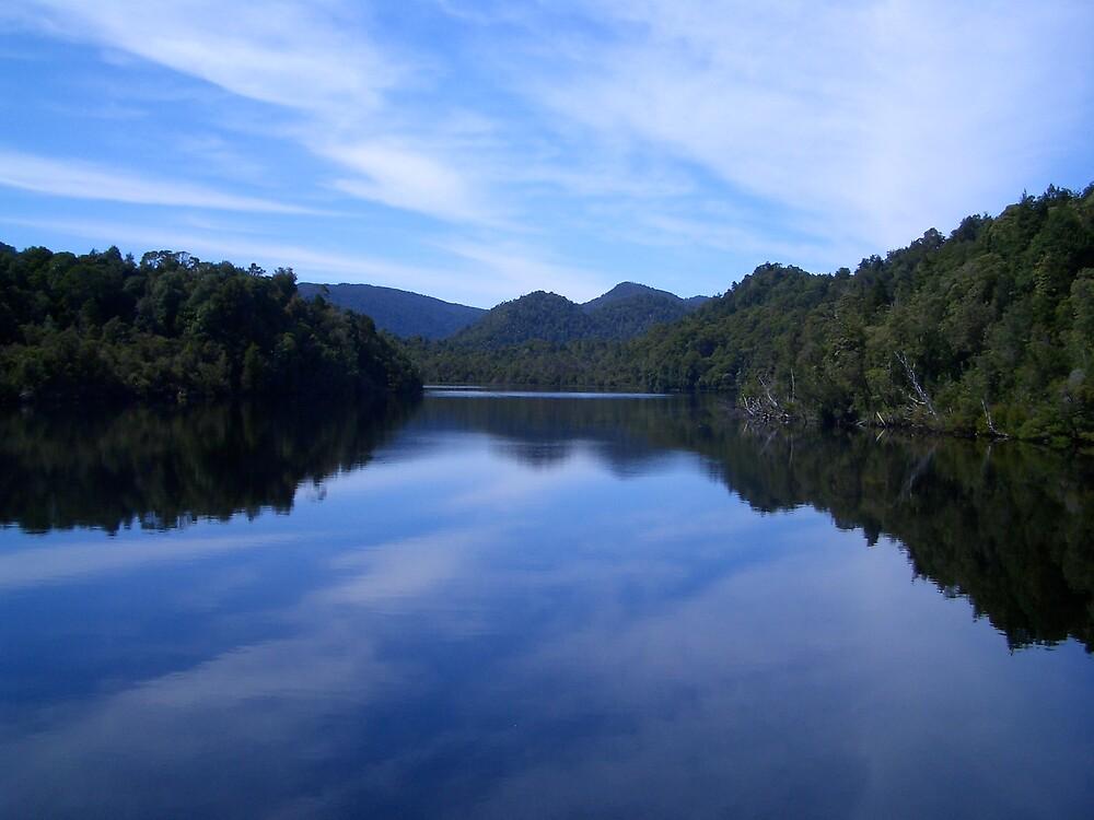 Gordon River - South West Tasmania by J-N-F
