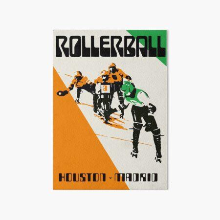 Rollerball - Houston vs Madrid Art Board Print