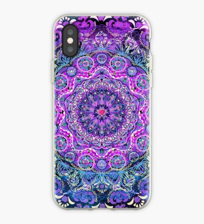 Cosmic Love Mandala iPhone Case