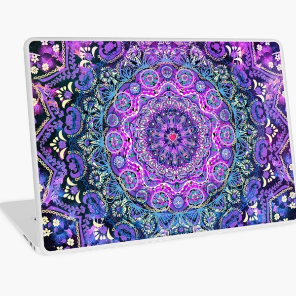 Cosmic Love Mandala Laptop Skin