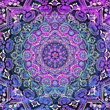 Cosmic Love Mandala by CameronGray