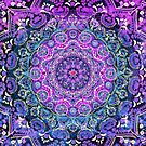 Cosmic Love Mandala by Cameron Gray