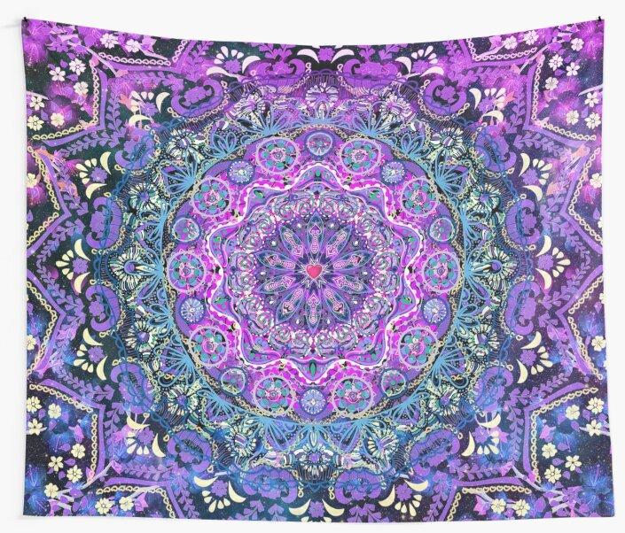 Cosmic Love Mandala by Cameron Gray