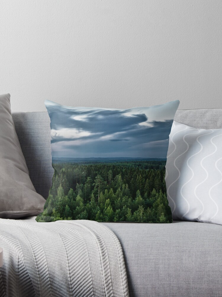 ABOVE ALMOST ALL [Throw pillows] by Matti Ollikainen