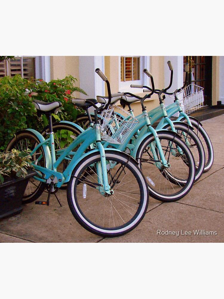 Blue Bikes by Rodwilliams