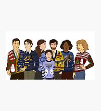 Tight Knit Family Photographic Print