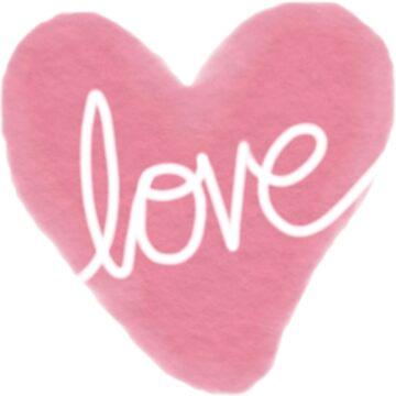 Valentine's Day Heart Pattern  by HoneybethStudio