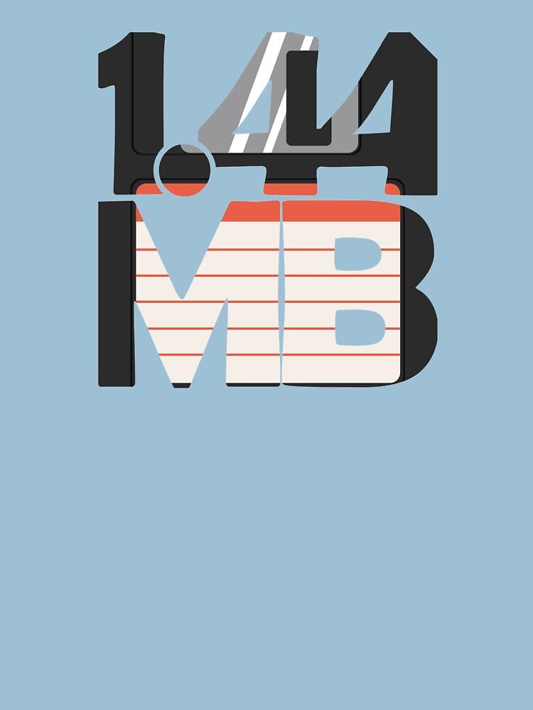 1.44MB Floppy Disk by jezkemp