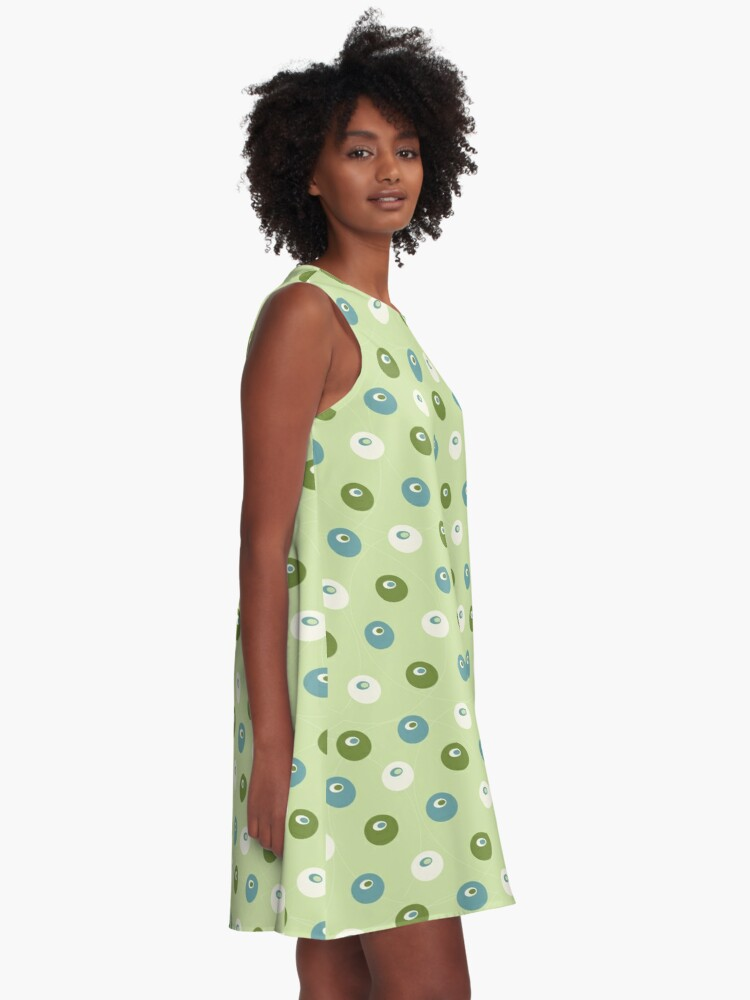 Alternate view of Ginkgo Berries A-Line Dress