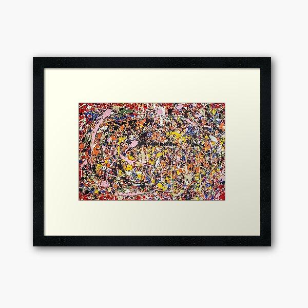 Thanks, Jackson Pollock  Framed Art Print