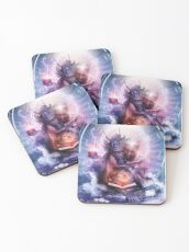 Perhaps The Dreams Are Of Soulmates Coasters