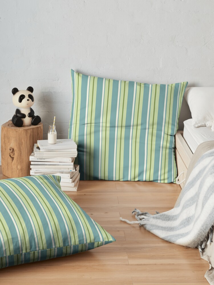 Alternate view of Ginkgo Stripe Floor Pillow