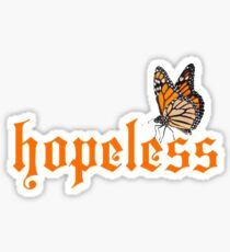Halsey Hopeless Fountain Kingdom Butterfly ( House of Spera ) Design Sticker