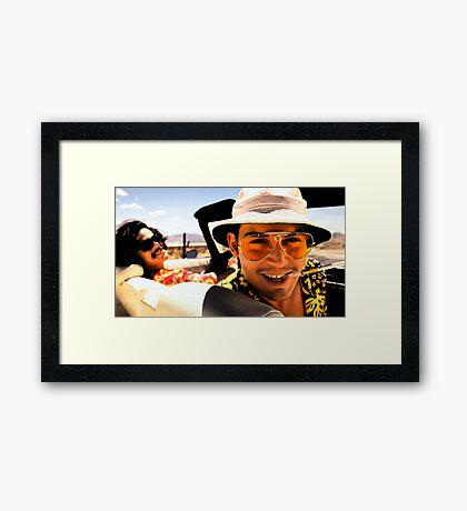 Fear and Loathing in Las Vegas - Art Framed Print