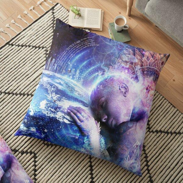 A Prayer For The Earth Floor Pillow