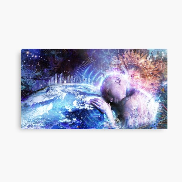 A Prayer For The Earth Metal Print