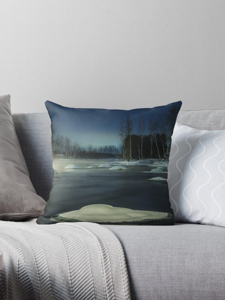 PLATFORMS [Throw pillows] by Matti Ollikainen