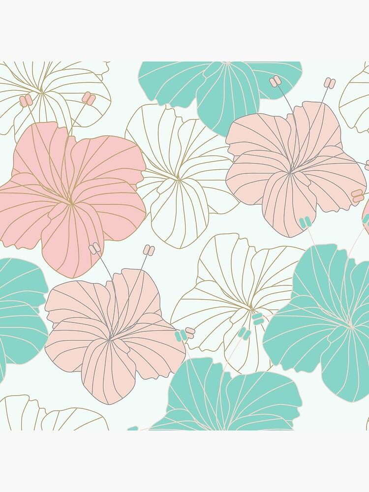 Floral Blush by MeredithWatson
