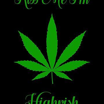 Irish Weed T-shirt by ashleymn