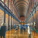 Trinity College library  by Megan Martin