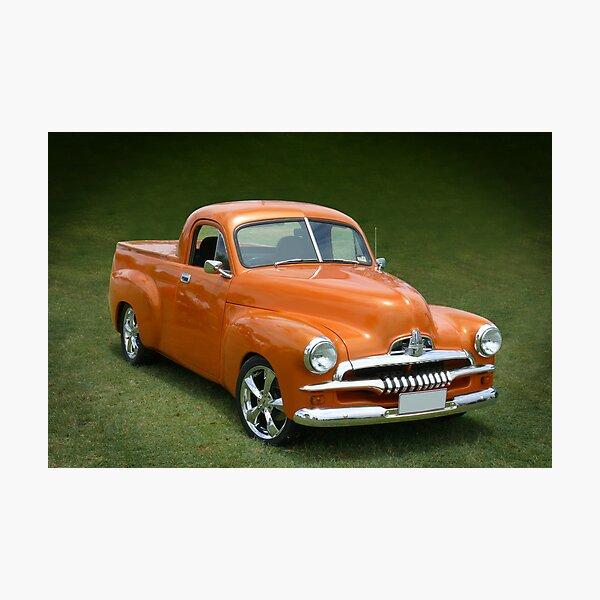 Classic Orange Photographic Print