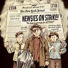 The Dollop - The Newsie Strike by James Fosdike