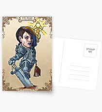 Fitzhywel's Fantastical Paraphernalia: Paladin! Postcards