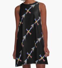 hologram sagittarius A-Line Dress