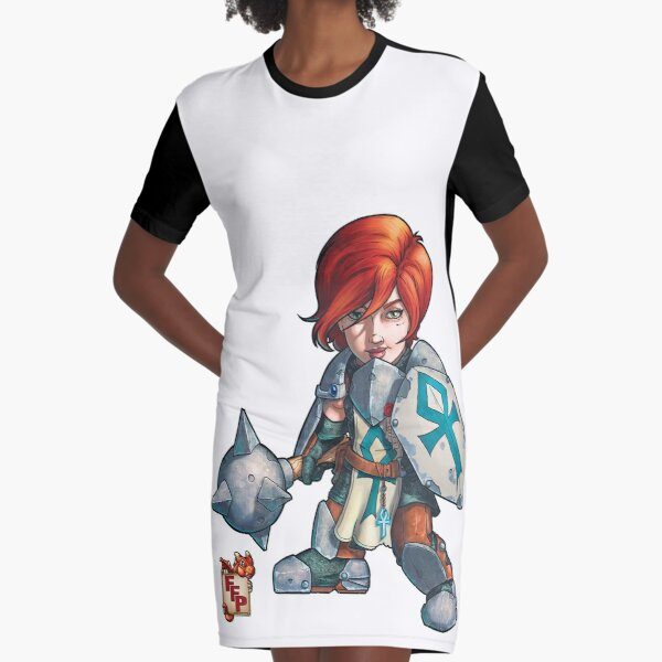 Fitzhywel's Fantastical Paraphernalia: Cleric! Graphic T-Shirt Dress