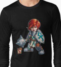 Fitzhywel's Fantastical Paraphernalia: Cleric! Long Sleeve T-Shirt