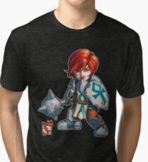 Fitzhywel's Fantastical Paraphernalia: Cleric! Tri-blend T-Shirt