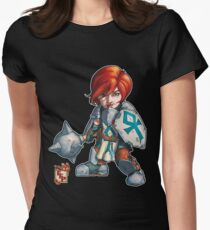 Fitzhywel's Fantastical Paraphernalia: Cleric! Women's Fitted T-Shirt