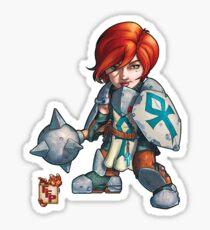 Fitzhywel's Fantastical Paraphernalia: Cleric! Sticker