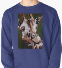 Giraffe, acrylic on canvas Pullover