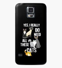 Funda/vinilo para Samsung Galaxy Necesita todos estos gatos