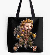 Fitzhywel's Fantastical Paraphernalia: Fighter! Tote Bag