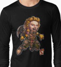 Fitzhywel's Fantastical Paraphernalia: Fighter! Long Sleeve T-Shirt