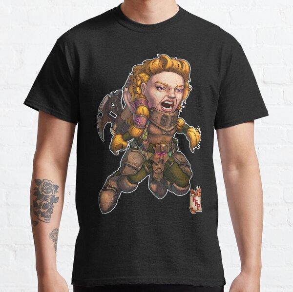 Fitzhywel's Fantastical Paraphernalia: Fighter! Classic T-Shirt