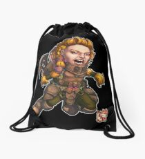 Fitzhywel's Fantastical Paraphernalia: Fighter! Drawstring Bag