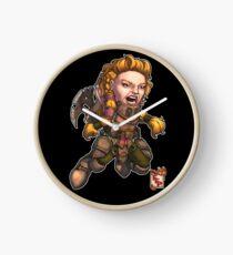 Fitzhywel's Fantastical Paraphernalia: Fighter! Clock