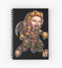 Fitzhywel's Fantastical Paraphernalia: Fighter! Spiral Notebook
