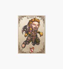 Fitzhywel's Fantastical Paraphernalia: Fighter! Art Board