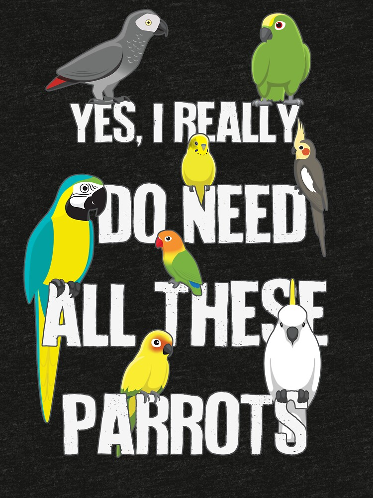 Brauche all diese Papageien von Psitta