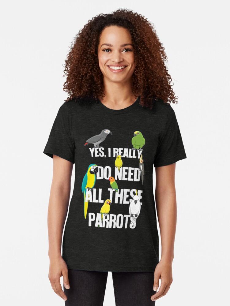 Alternative Ansicht von Brauche all diese Papageien Vintage T-Shirt