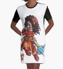 Fitzhywel's Fantastical Paraphernalia: Mage! Graphic T-Shirt Dress