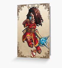 Fitzhywel's Fantastical Paraphernalia: Mage! Greeting Card