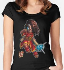Fitzhywel's Fantastical Paraphernalia: Mage! Women's Fitted Scoop T-Shirt